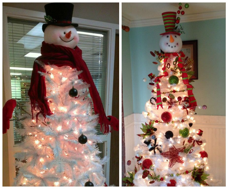 5 ideas para decorar rboles navide os blancos rboles - Como adornar un arbol de navidad blanco ...
