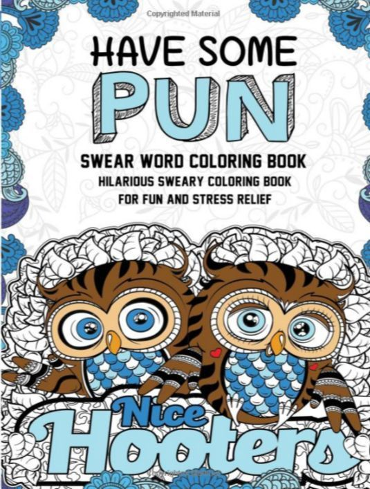 coloring book for adult have some pun swear word dirty humor fun stress relief - Dirty Coloring Book