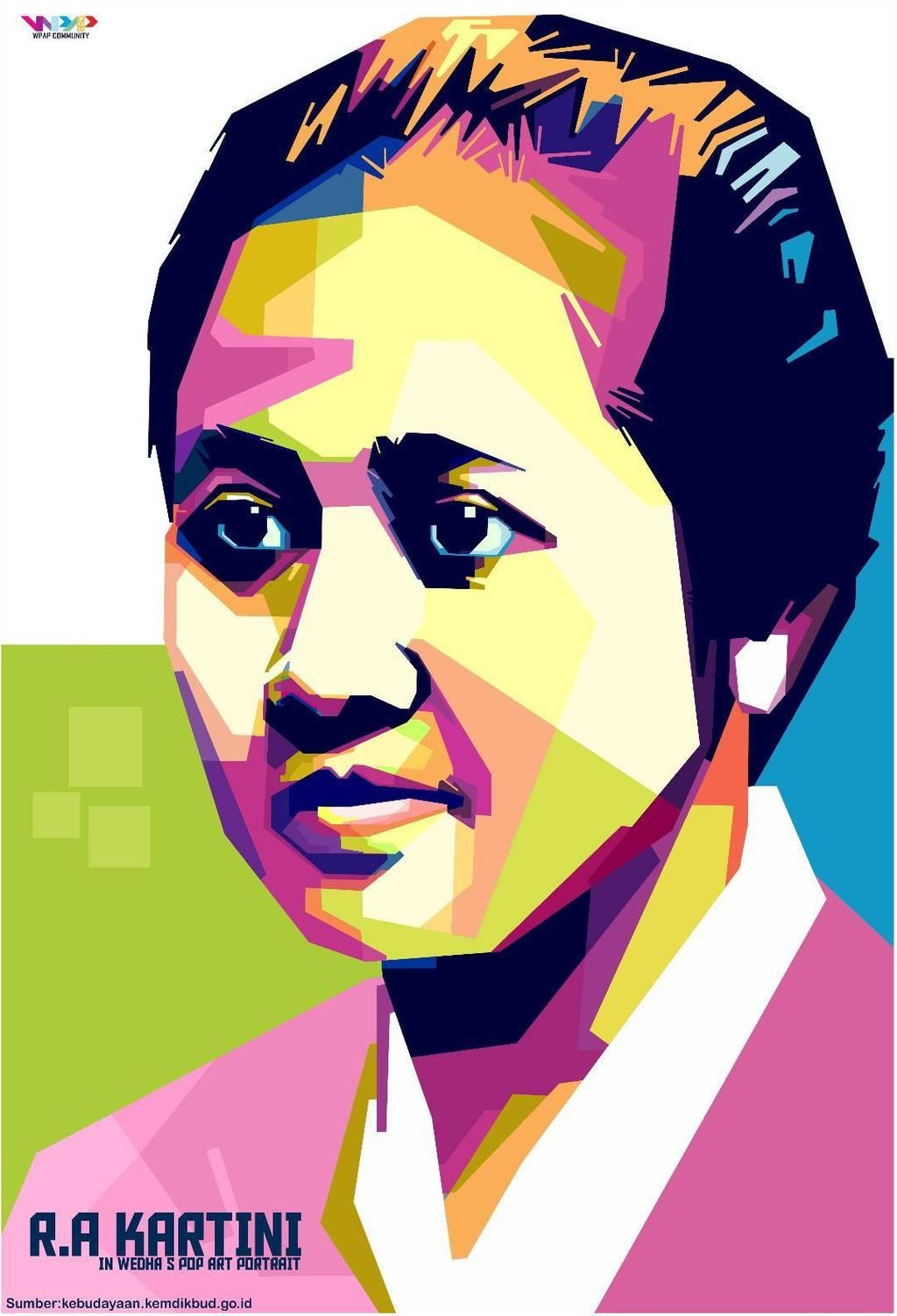 Ra Kartini Vector : kartini, vector, Kartini, Indocreativeart, DeviantArt, Iphone, Wallpaper, Vintage
