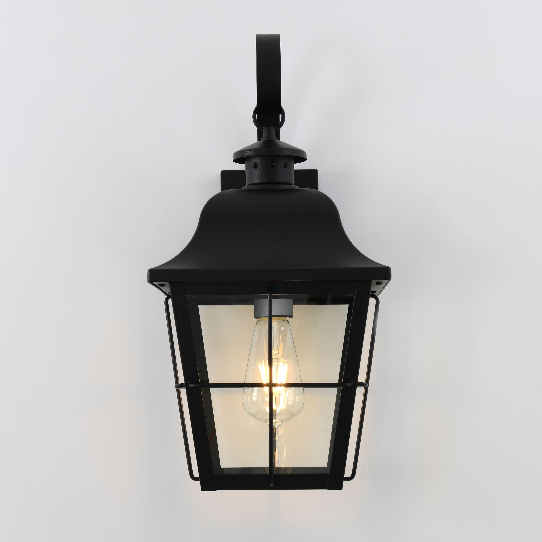 Artika Jatoba Outdoor Wall Lantern Light Black Outdoor Lighting Outdoor Light Fixtures Wall Lantern