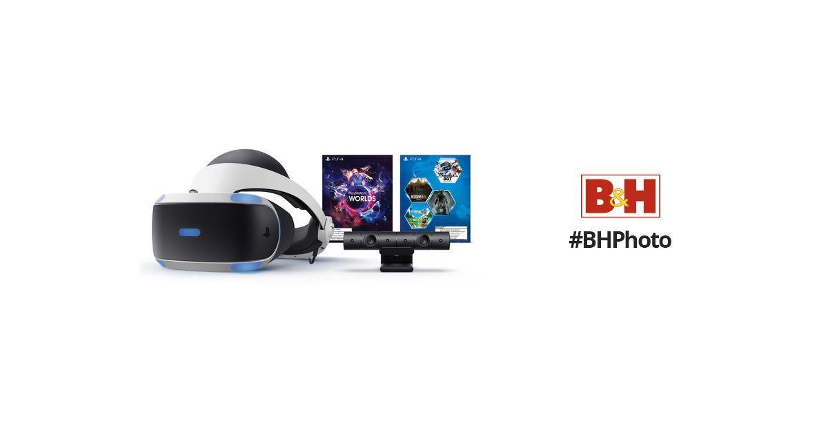 Sony Playstation Vr Five Game Mega Pack Bundle Sony Playstation Vr Playstation Playstation Vr