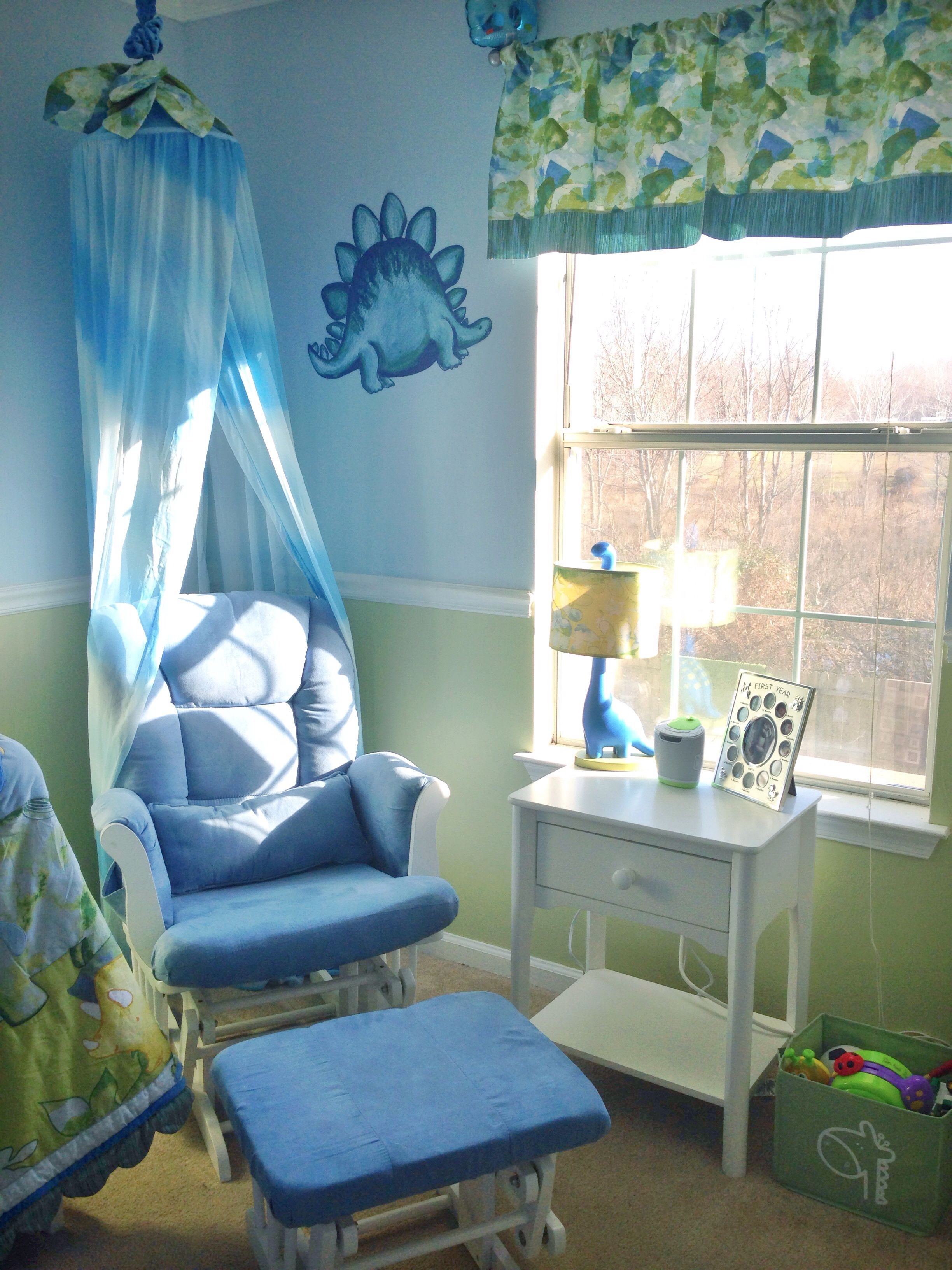 Rocking chair ( Walmart) || side table (Babies R Us) || & Rocking chair ( Walmart) || side table (Babies R Us) || Dino lamp ...