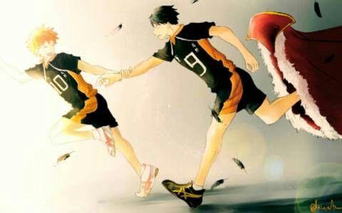 Haikyuu!! Hinata Shouyou and Kageyama Tobio