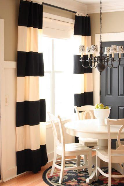 Love the black door