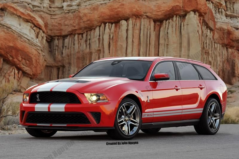 Mustang Gt500 Wagon I M Really Not Certain About This Concept