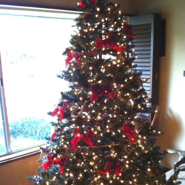 Cowboy Christmas tree Products I Love Pinterest Christmas