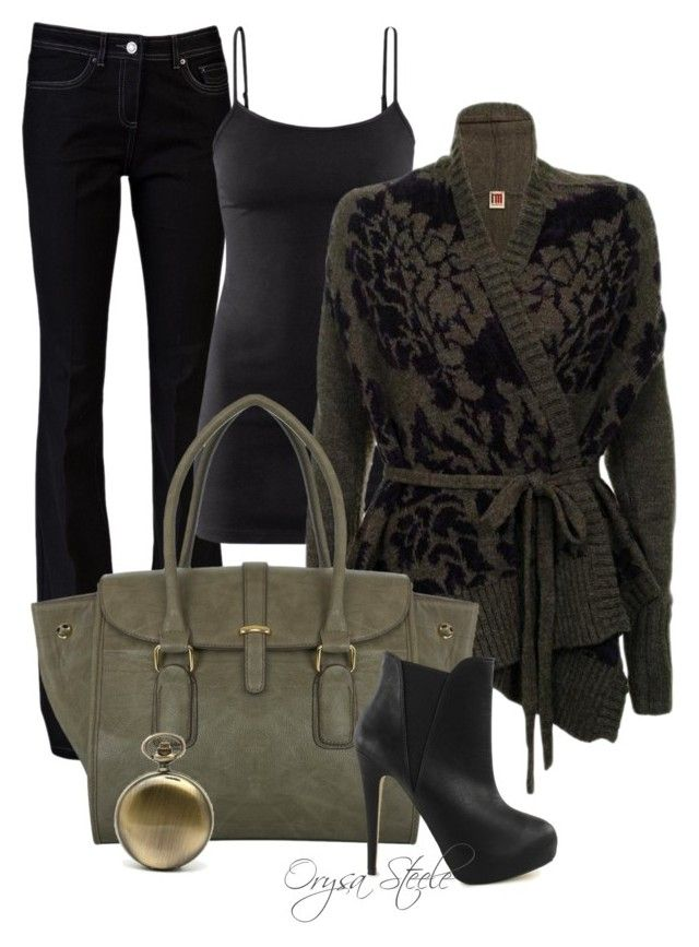 """""""Dress Down Friday"""" by orysa ❤ liked on Polyvore featuring Rachel Zoe, H&M, ISOLA MARRAS, Miss Selfridge, Timeless, women's clothing, women, female, woman and misses"""