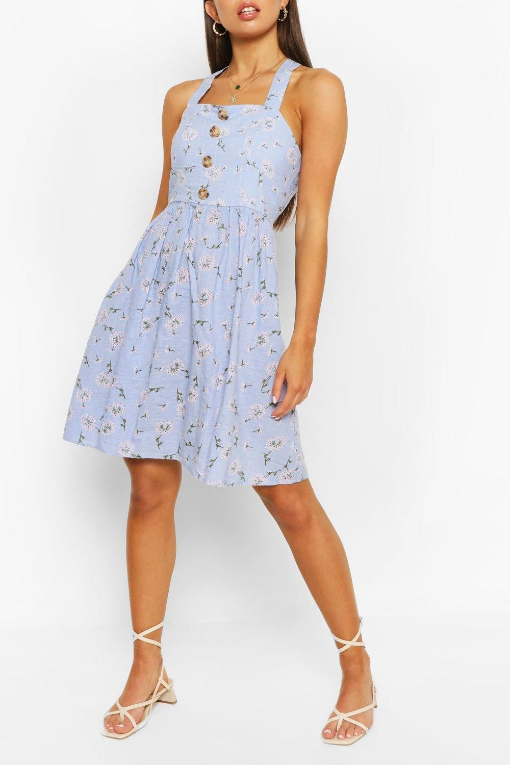 Ring Back Detail Sundress Boohoo In 2021 Casual Dresses For Teens Everyday Dresses Latest Casual Dress [ 1500 x 1000 Pixel ]