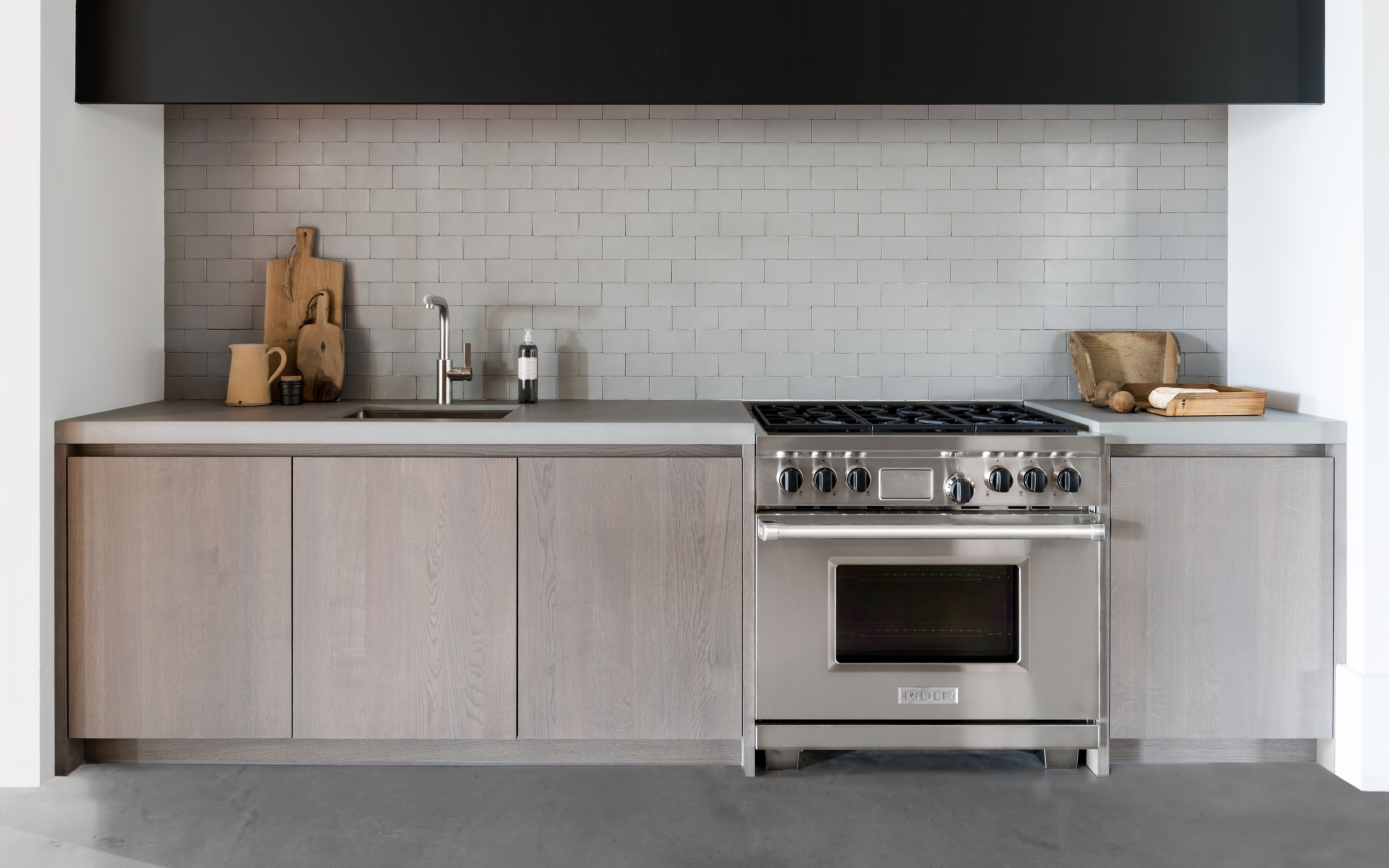 Ceramic Signature Tile Smoke Piet Boon Kitchen