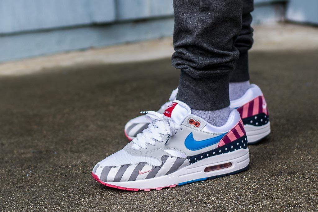 Parra x Nike Air Max 1 On Feet Sneaker