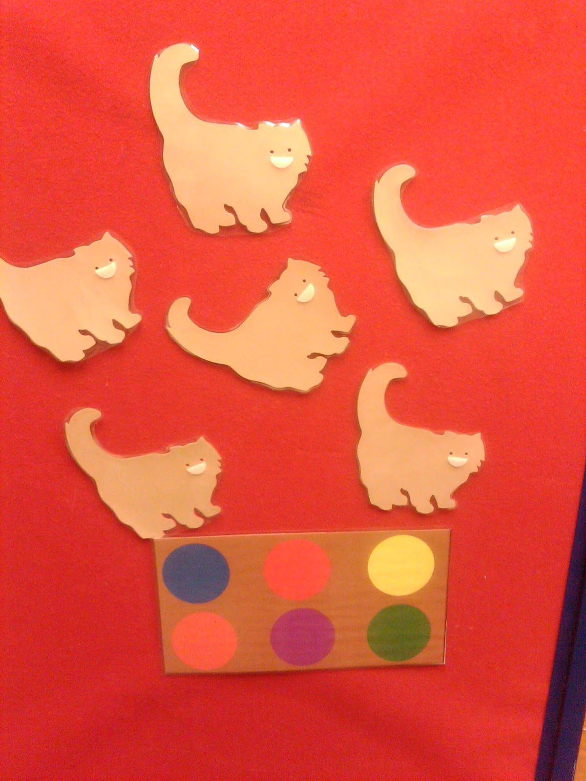 Flannel Friday Rainbow Kittens
