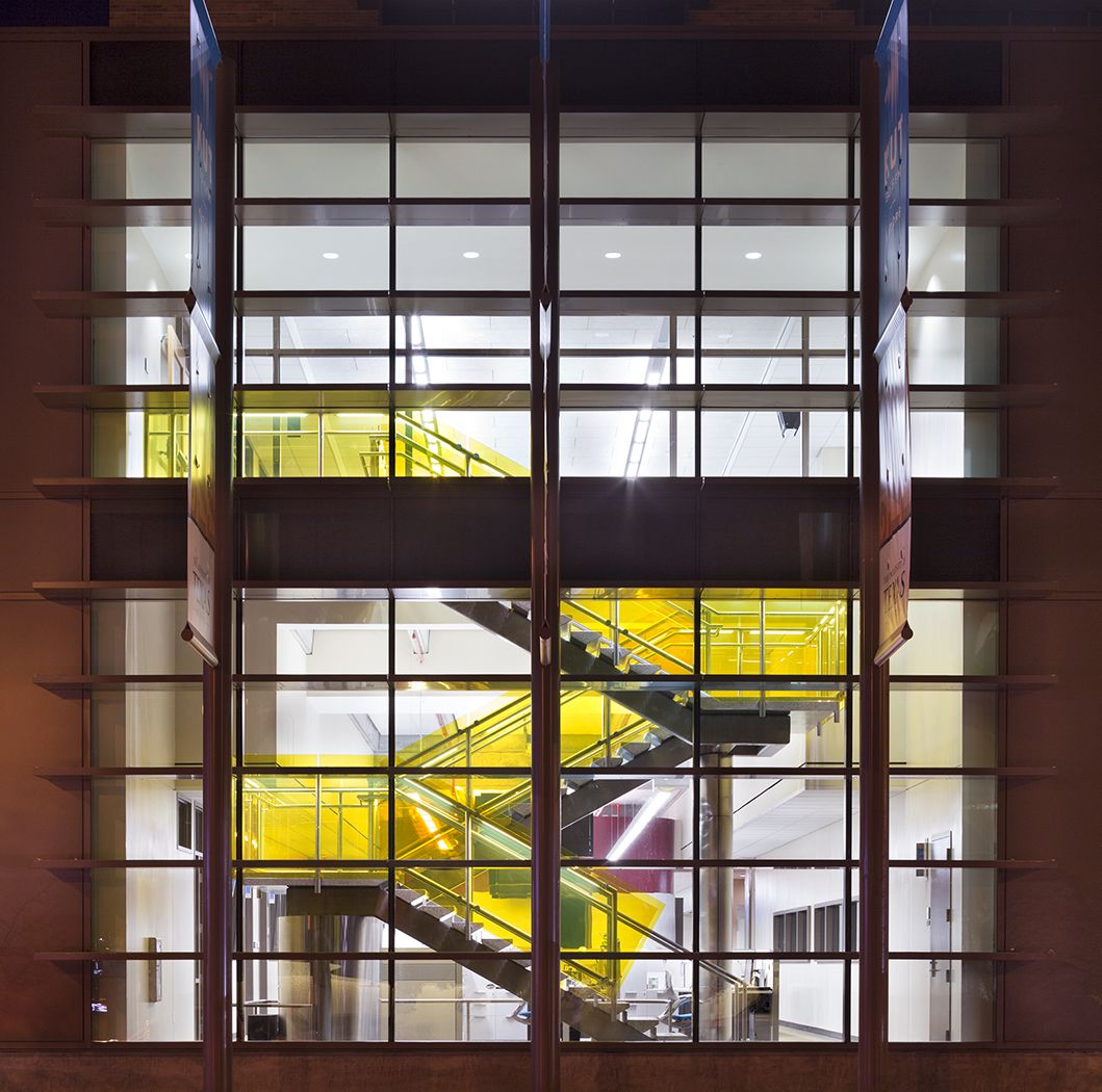 University Of Texas Belo Center For New Media Austin Tx Lawrence Group Architecture Design
