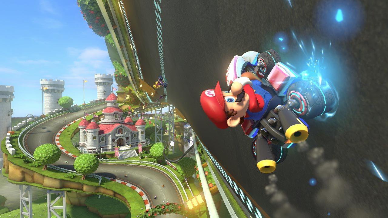 Mario Kart 8 Trailer And Screenshots Let The Racing Begin Mario Kart Mario Kart 8 Super Mario 3d