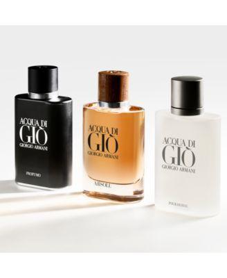 16a2162042 Giorgio Armani Men's Acqua di Gio Absolu Eau de Parfum Spray, 1.35-oz.