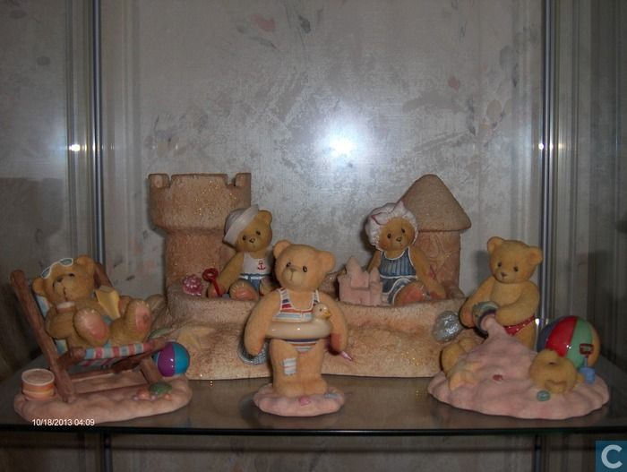 Figures and statuettes  - Beertjes - Cherished Teddies beach