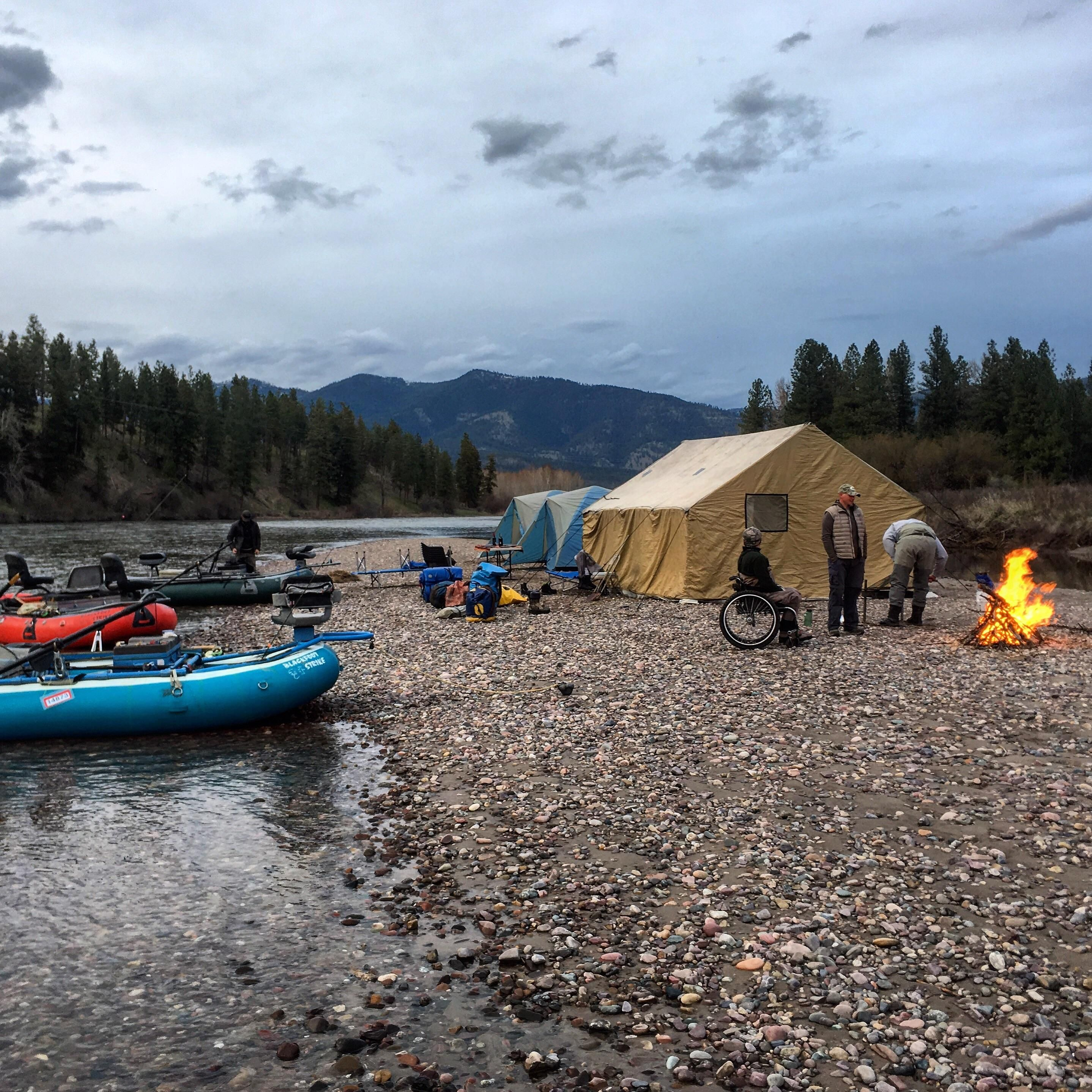 Had a fantastic Montana overnight fly fishing/camping trip ...