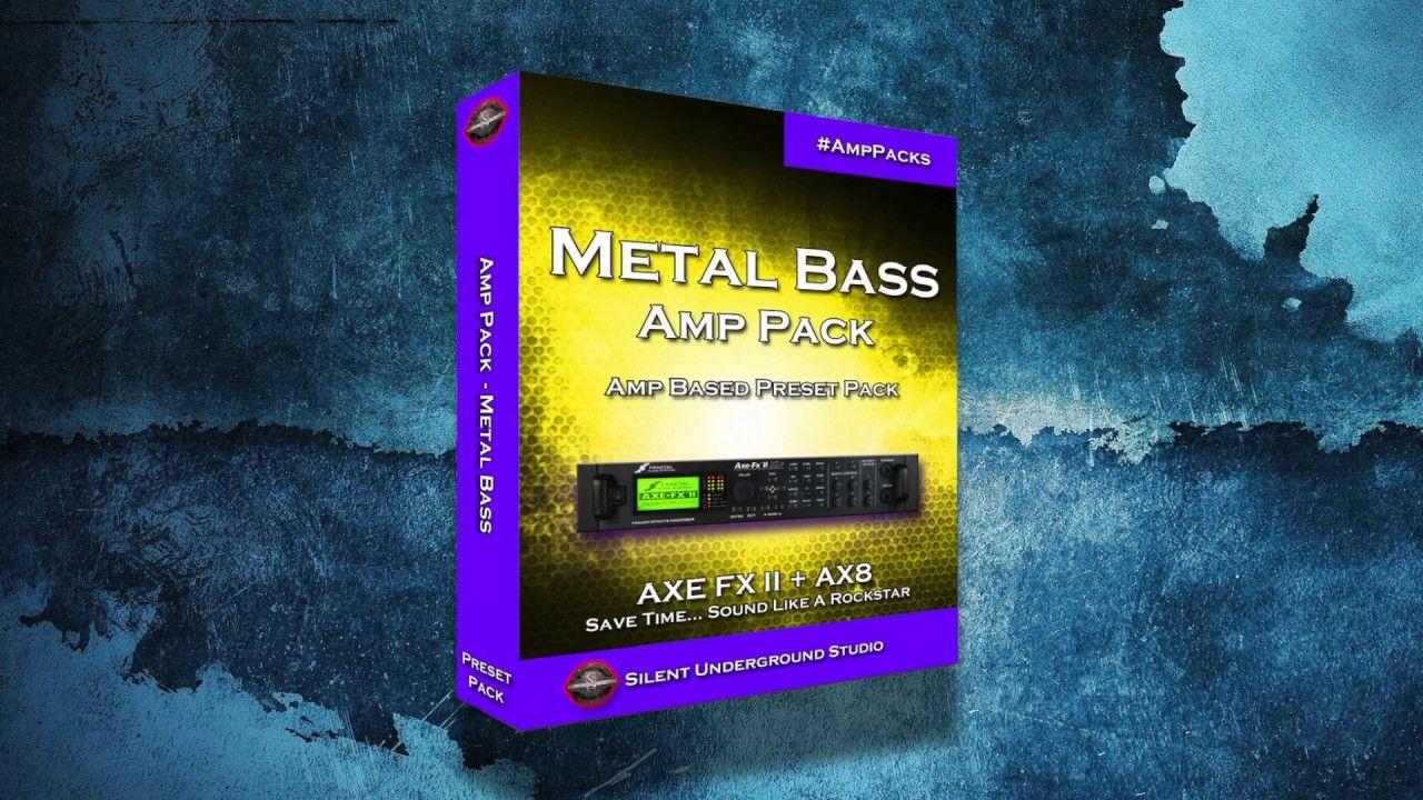 Metal Bass Amp Pack (ALL B7K Presets) - AXE FX II / AX8