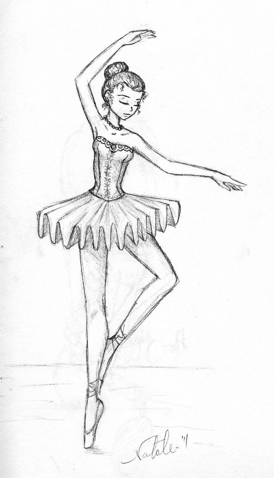 Tumblr Ballerine Cerca Con Google Ballerina Sketch Sketches