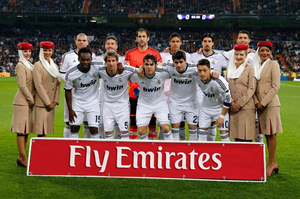 Emirates cabin crew were at the Santiago Bernabéu to witness our 2 - emirates flight attendant sample resume