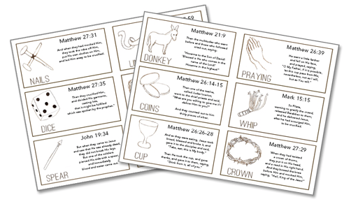 photo about Resurrection Egg Story Printable named Absolutely free downloadable Resurrection Eggs printable No cost