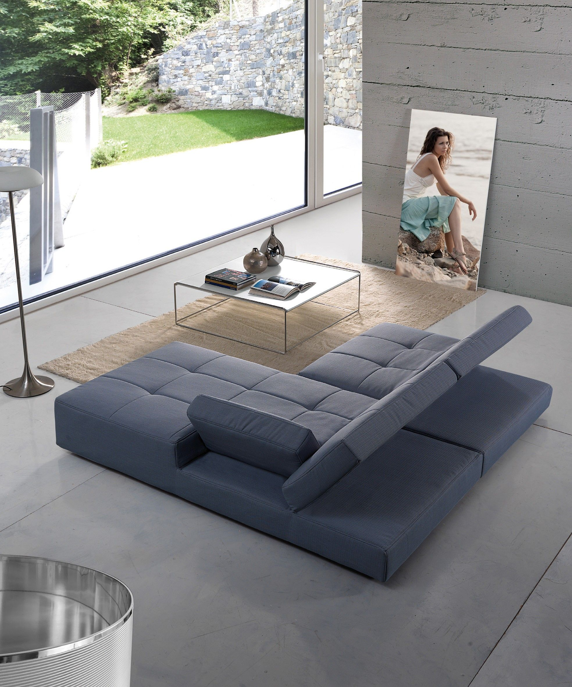 Dreams4Home Polsterecke U Form Mike XXL Big Sofa Ecksofa Couch
