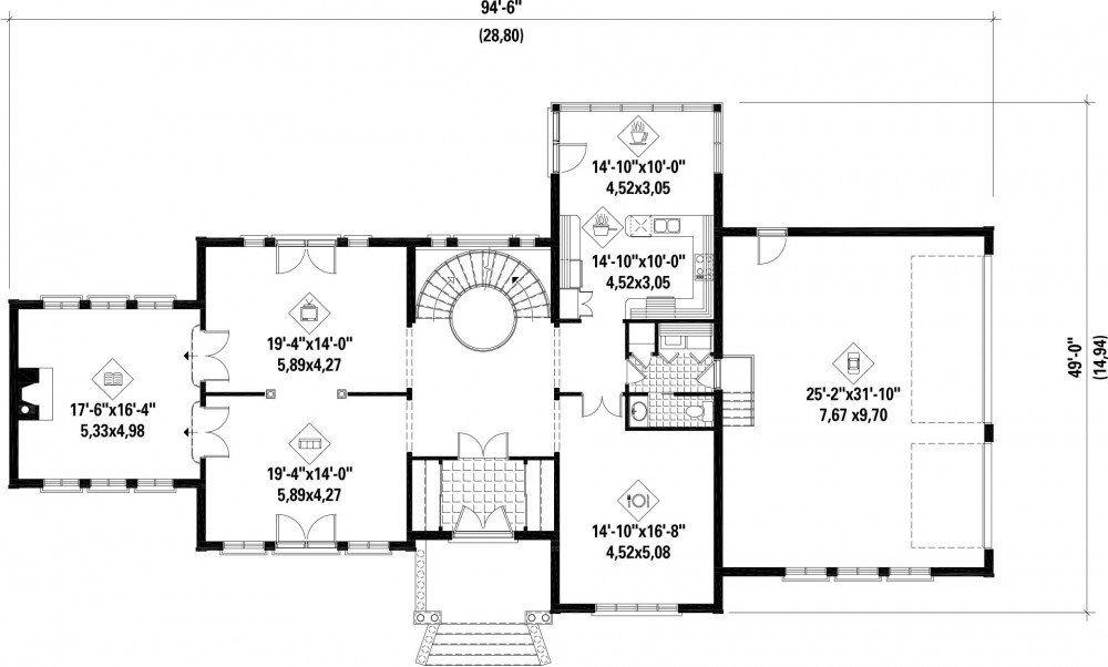 Plan Image Used When Printing House Plan Pinterest Plan Maison