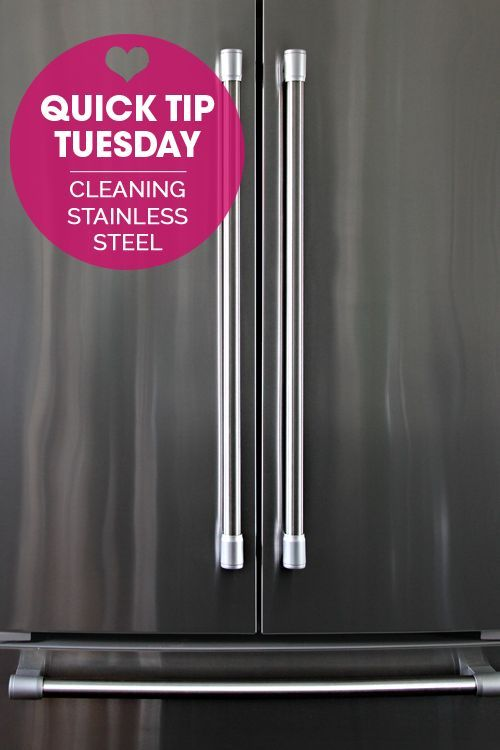 56 Quick Tip Tuesday Cleaning Stainless Steel Appliances Cleaning