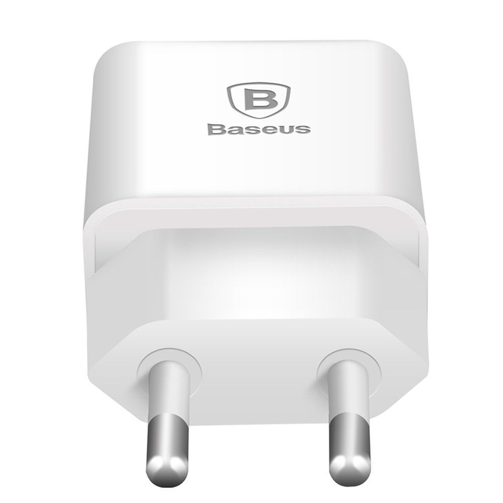 Baseus Eu Plug 5v 2a Travel Usb Charger Fast Charging Adapter Wall Oppo Phone For Iphone 7 Plus Samsung S7 Edge Htc Vivo