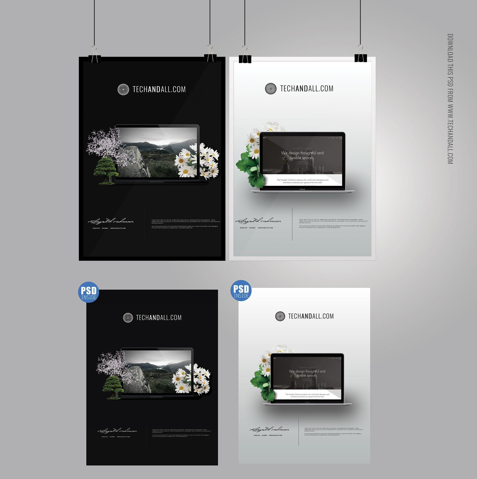 Free poster designs - Free A4 Poster Frame Mockup Freebies A4 Display Frame Free Graphic Design Mockup Poster Presentation