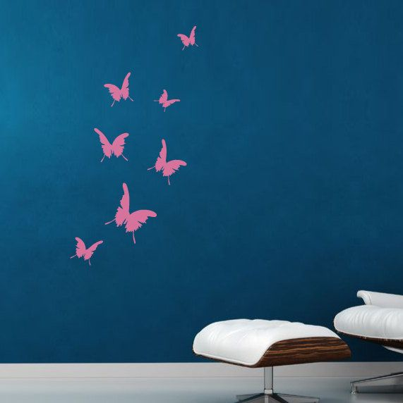 Butterflies Wall Decal Wall Sticker Butterfly Wall Decals