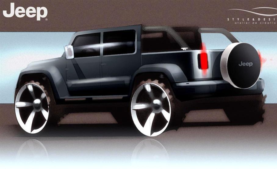 Georgeous 2017 Jeep Wrangler Concept