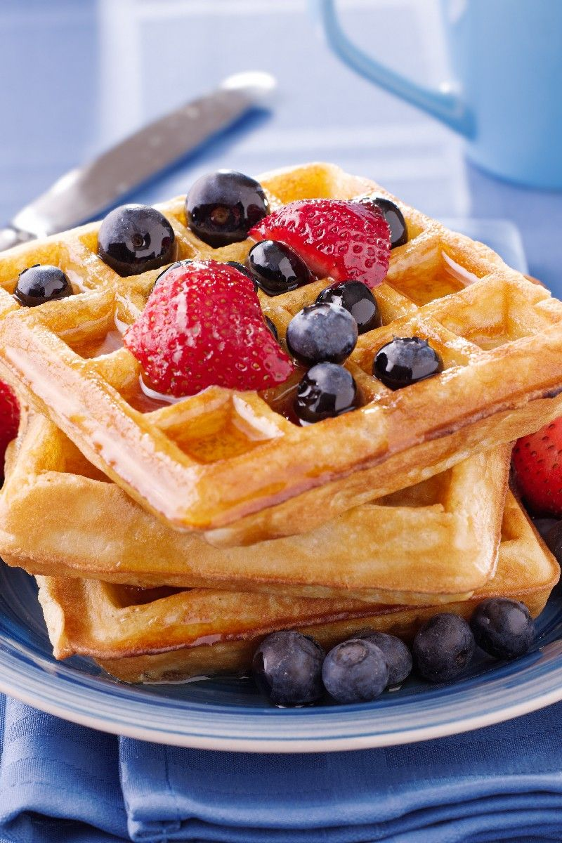 Homemade Waffles Recipe - Ready in 20 Minutes - made ...