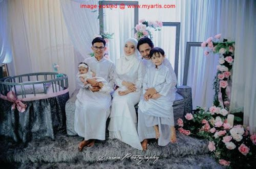 31 Gambar Suasana Majlis Berendoi Baby Girl Diana Zamarul Pasangan Selebriti Diana Rafar Dan Zamarul Hisham Telah Mengadakan Ma Pengiring Pengantin Meriah