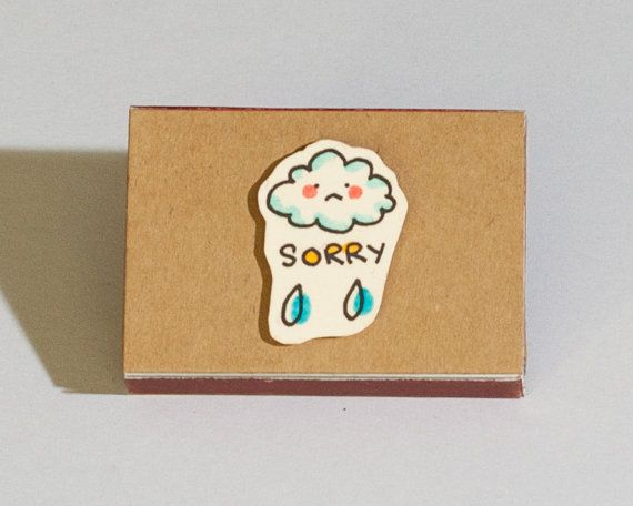 Sorry Card / Forgive me Card / Apology Card Matchbox / Message box - apology card messages