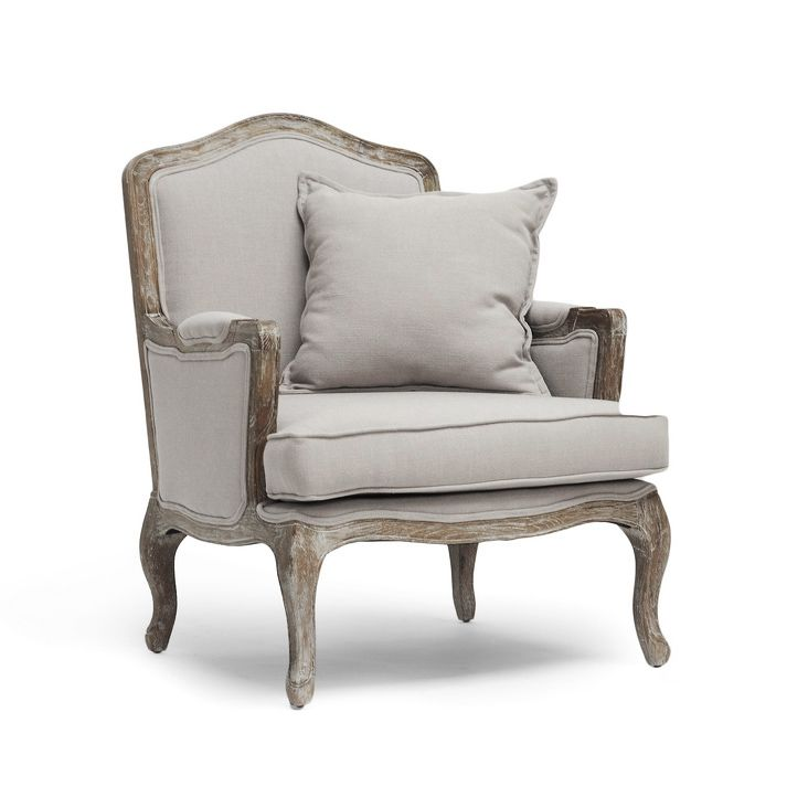 Antiqued Classic French Modern Sitting Chair