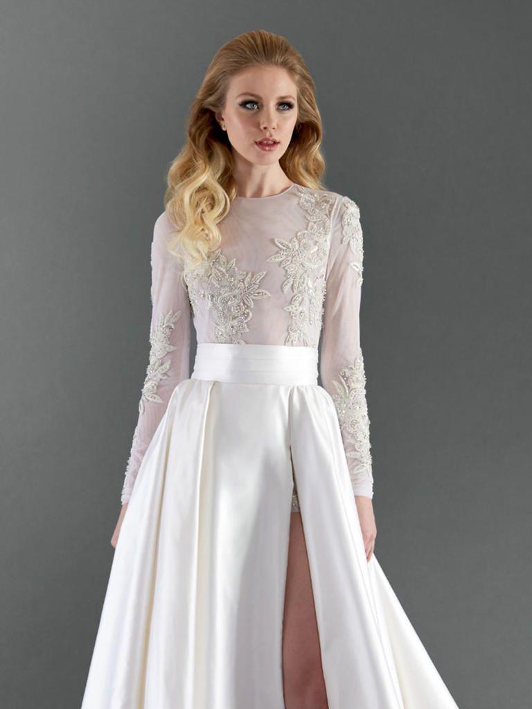 Mini wedding dresses  Randi Rahm Spring  Modern Dresses With Edge  Dresses