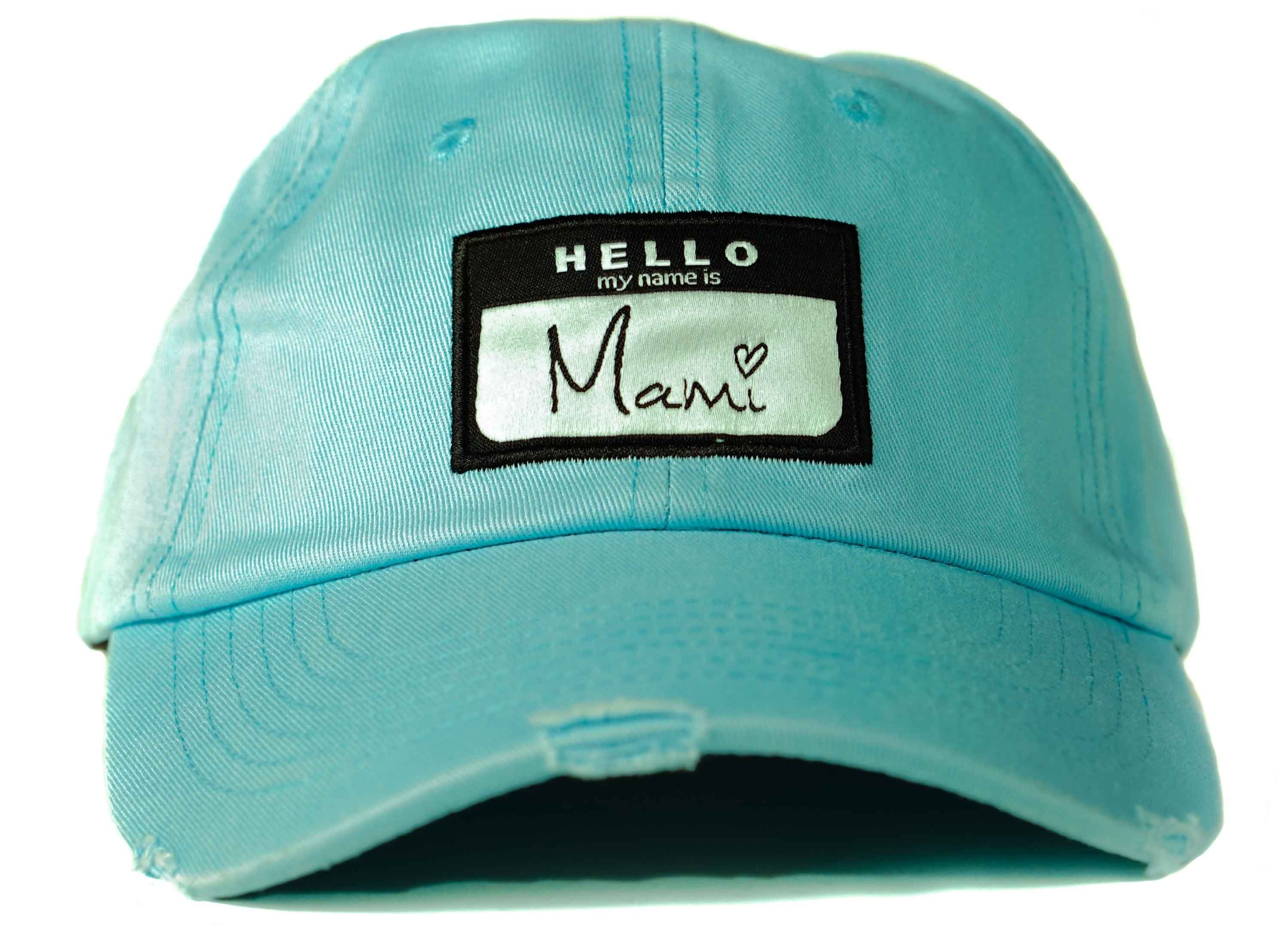 d05be510554 Hello My Name Is Mami Dad Hat   Almost Sold Out