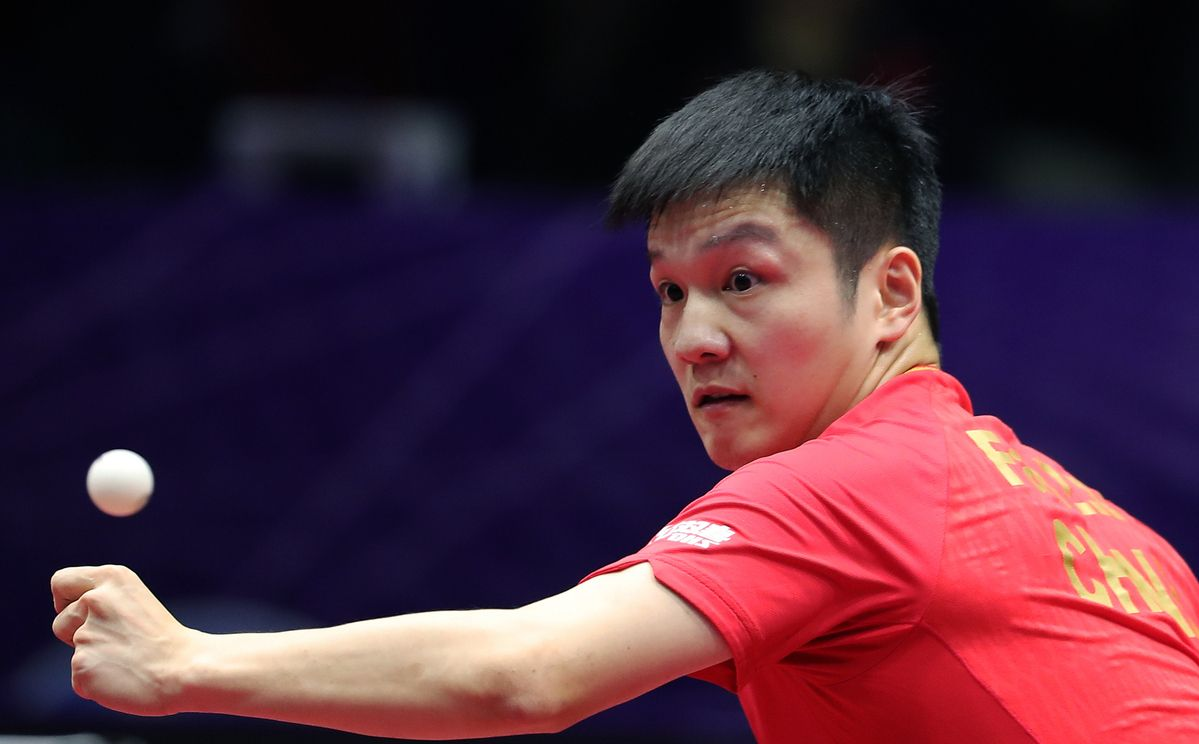 World No 1 Fan Secures Title Winning Hat Trick At Table Tennis World Cup Https Ift Tt 2rpcomn Tennis World World Cup Table Tennis