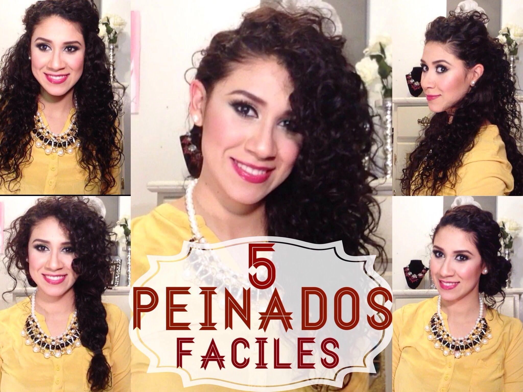Hola Muchachas Guapas Les Dejo Estas Ideas De Peinados Que Me - Muchachas-guapas