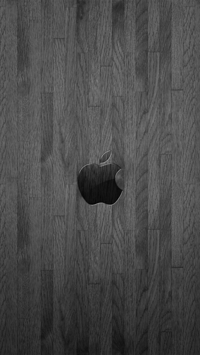 Apple logo wallpaper for iPhone 5   Apple, Wood, Wallpaper ...