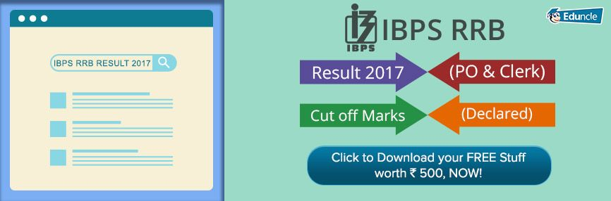Ibps Rrb Result  Cut Off Download Po Office Asst Score Card