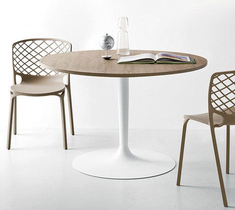 tables chaises table ronde cuisine