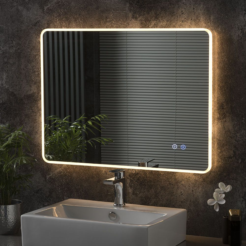 Moscow Landscape Led Bathroom Mirror