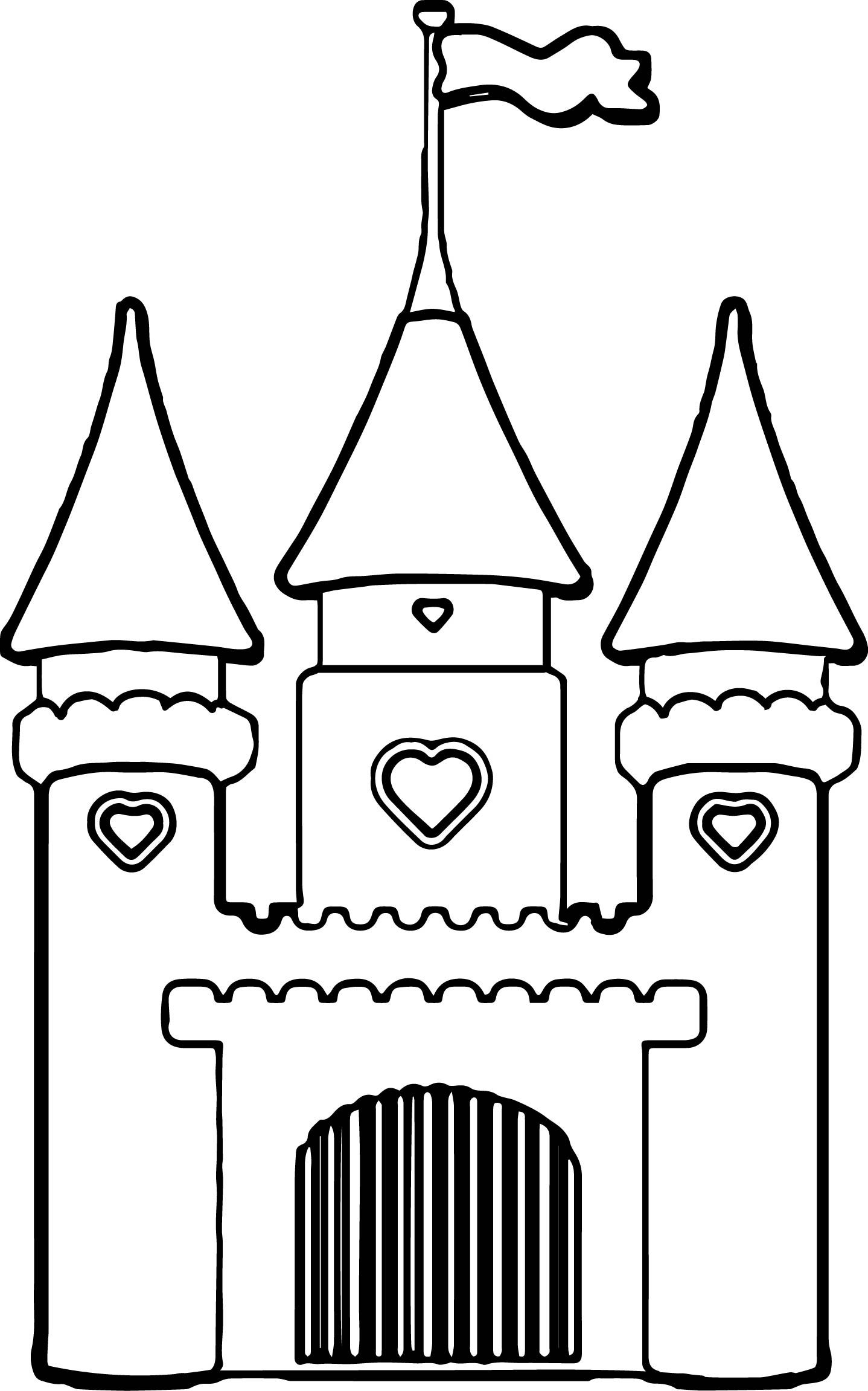 Girls Coloring Pages Free Castle Coloring Page Princess Coloring Pages Coloring Pages