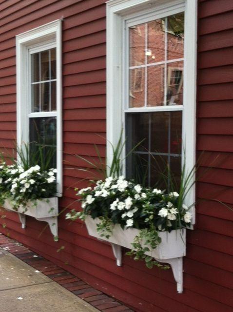Cheryl's window boxes in Salem!
