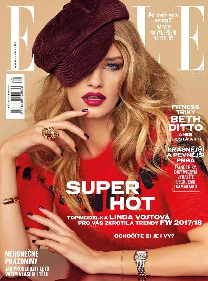 Elle Czech Republic August 2017,#august #czech #Republic