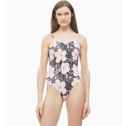 Calvin Klein Badeanzug mit U-Ausschnitt – Andy Warhol Xs Calvin Klein – Swimsuit
