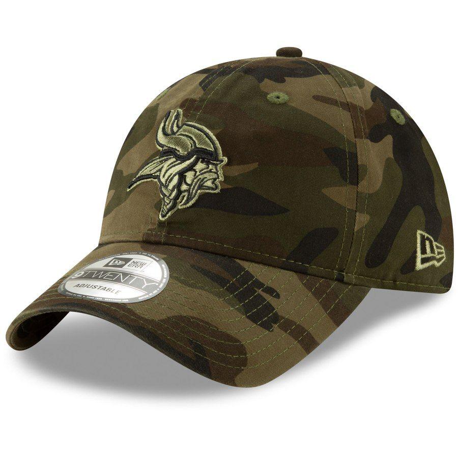 best sneakers 8e966 5413b Minnesota Vikings New Era Youth Core Classic Tonal 9TWENTY Adjustable Hat –  Camo, Your Price