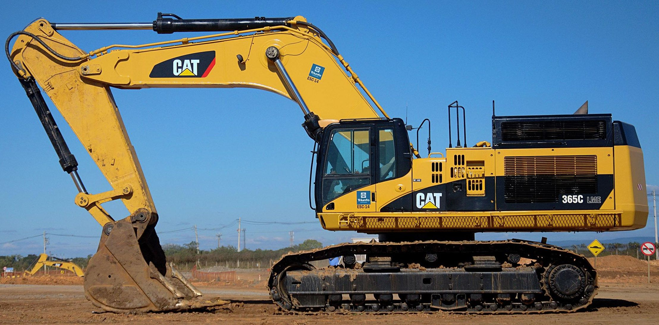 CAT 365C Large Excavator Caterpillar excavators