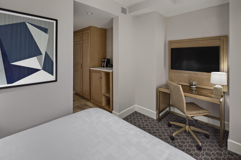 Petite Manhattan Room At Hotel Teatro In Downtown Denver